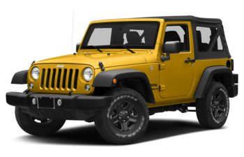 2018 Jeep Wrangler JK - Baja Yellow