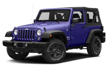 2017 Jeep Wrangler - Xtreme Purple Pearl