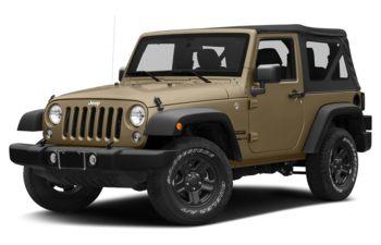 2017 Jeep Wrangler - Gobi