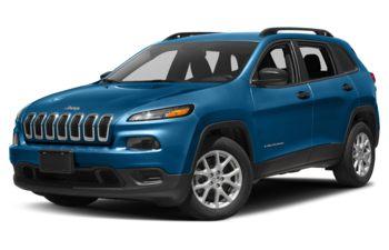 2018 Jeep Cherokee - Hydro Blue Pearl