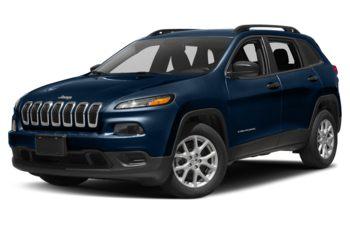 2018 Jeep Cherokee - Patriot Blue Pearl