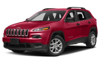2018 Jeep Cherokee - Firecracker Red
