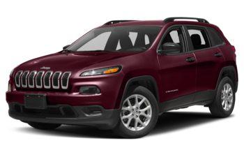 2018 Jeep Cherokee - Velvet Red Pearl