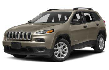 2018 Jeep Cherokee - Light Brownstone Pearl