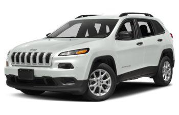 2018 Jeep Cherokee - Bright White
