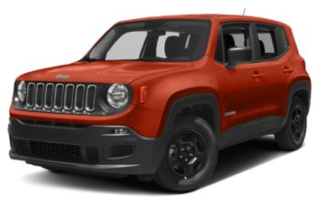2018 Jeep Renegade - Omaha Orange