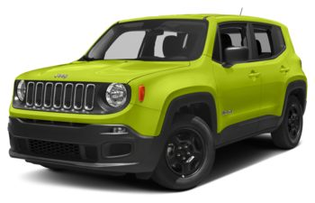 2018 Jeep Renegade - Hypergreen