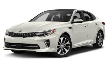 2018 Kia Optima - Snow Pearl White