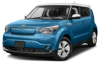 2019 Kia Soul EV - Electronic Blue Pearl/Polar White Two-Tone