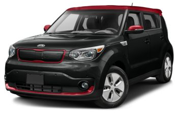 2018 Kia Soul EV - Onyx/Inferno Red Two-Tone
