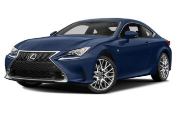 2018 Lexus RC 300 - Ultrasonic Blue Mica 2.0