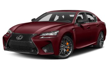 2018 Lexus GS F - Matador Red Mica