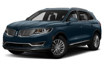 2018 Lincoln MKX - Blue Diamond Metallic