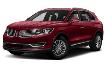 2018 Lincoln MKX - Ruby Red Metallic Tinted Clearcoat