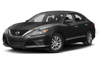 2017 Nissan Altima - Super Black