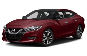 2017 Nissan Maxima - Coulis Red Metallic