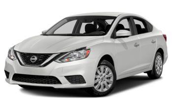 2018 Nissan Sentra - Aspen White Pearl