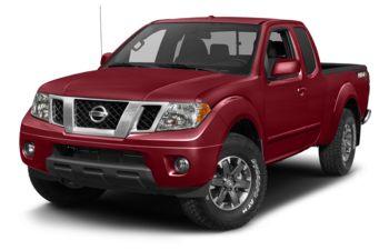 2018 Nissan Frontier - Cayenne Red Metallic