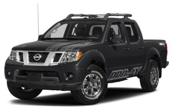 2017 Nissan Frontier - Magnetic Black Metallic
