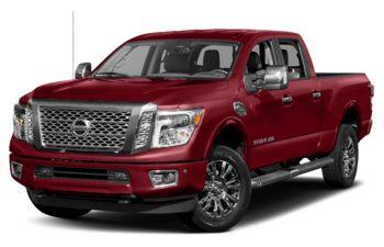 2018 Nissan Titan XD - Cayenne Red Metallic