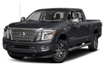 2018 Nissan Titan XD - Magnetic Black Metallic