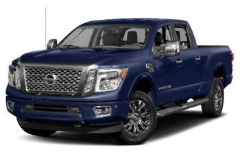 2018 Nissan Titan XD - Deep Blue Pearl