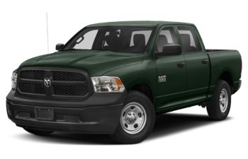 2017 RAM 1500 - Black Forest Green Pearl
