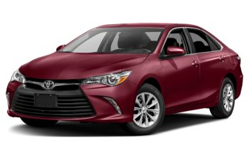 2017 Toyota Camry - Ruby Flare Pearl