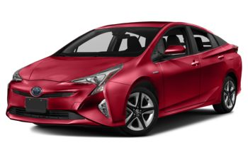 2017 Toyota Prius - Hypersonic Red