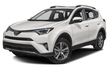 2018 Toyota RAV4 - Alpine White