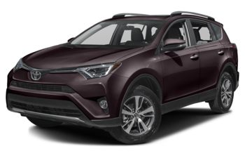 2018 Toyota RAV4 - Black Currant Metallic