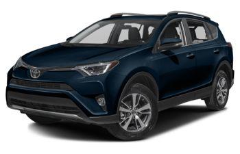 2018 Toyota RAV4 - Galactic Aqua Mica