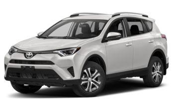 2017 Toyota RAV4 - Alpine White