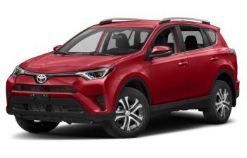 2017 Toyota RAV4 - Barcelona Red Metallic
