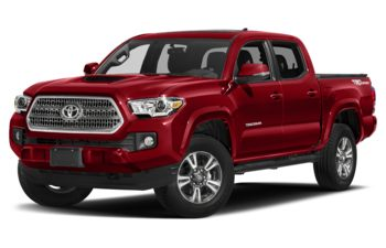 2017 Toyota Tacoma - Barcelona Red Metallic
