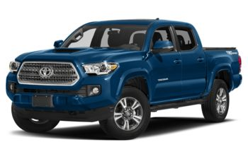 2017 Toyota Tacoma - Blazing Blue Metallic