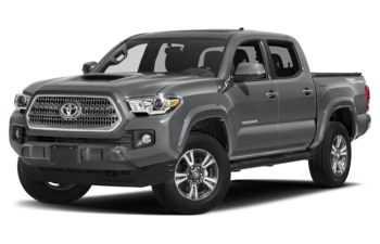2017 Toyota Tacoma - Cement Grey Metallic