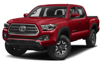 2017 Toyota Tacoma - Barcelona Red Metallic