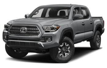 2017 Toyota Tacoma - Cement Grey Metallic