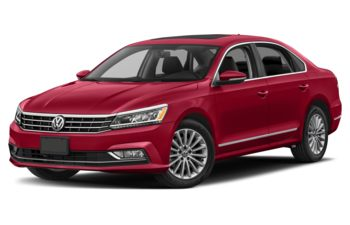 2018 Volkswagen Passat - Fortana Red Metallic