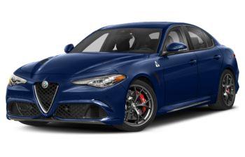 2020 Alfa Romeo Giulia - Montecarlo Blue Metallic