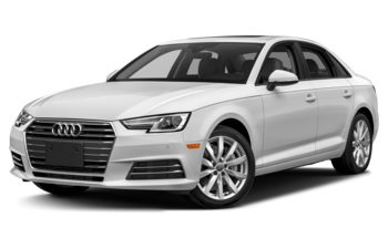 2018 Audi A4 - Glacier White Metallic