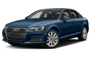 2017 Audi A4 - Scuba Blue Metallic