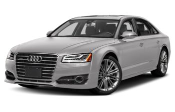 2018 Audi A8 - Forest Silver Metallic