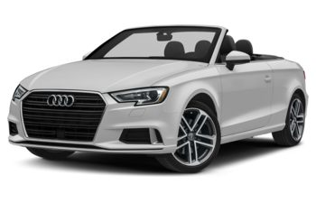 2018 Audi A3 - Glacier White Metallic/Black Roof