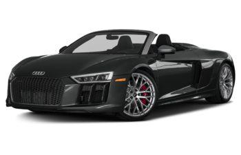 2018 Audi R8 - Mythos Black Metallic/Black Roof