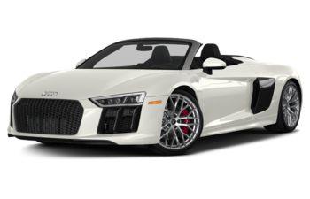 2018 Audi R8 - Ibis White/Black Roof