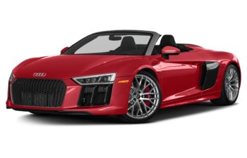 2018 Audi R8 - Tango Red Metallic/Black Roof