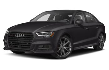 2019 Audi S3 - Panther Black Crystal Effect