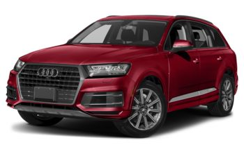 2018 Audi Q7 - Temperament Red Metallic